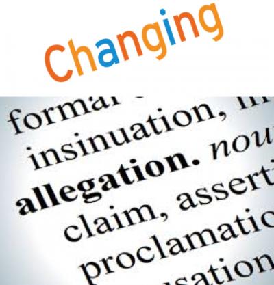 Change Allegation
