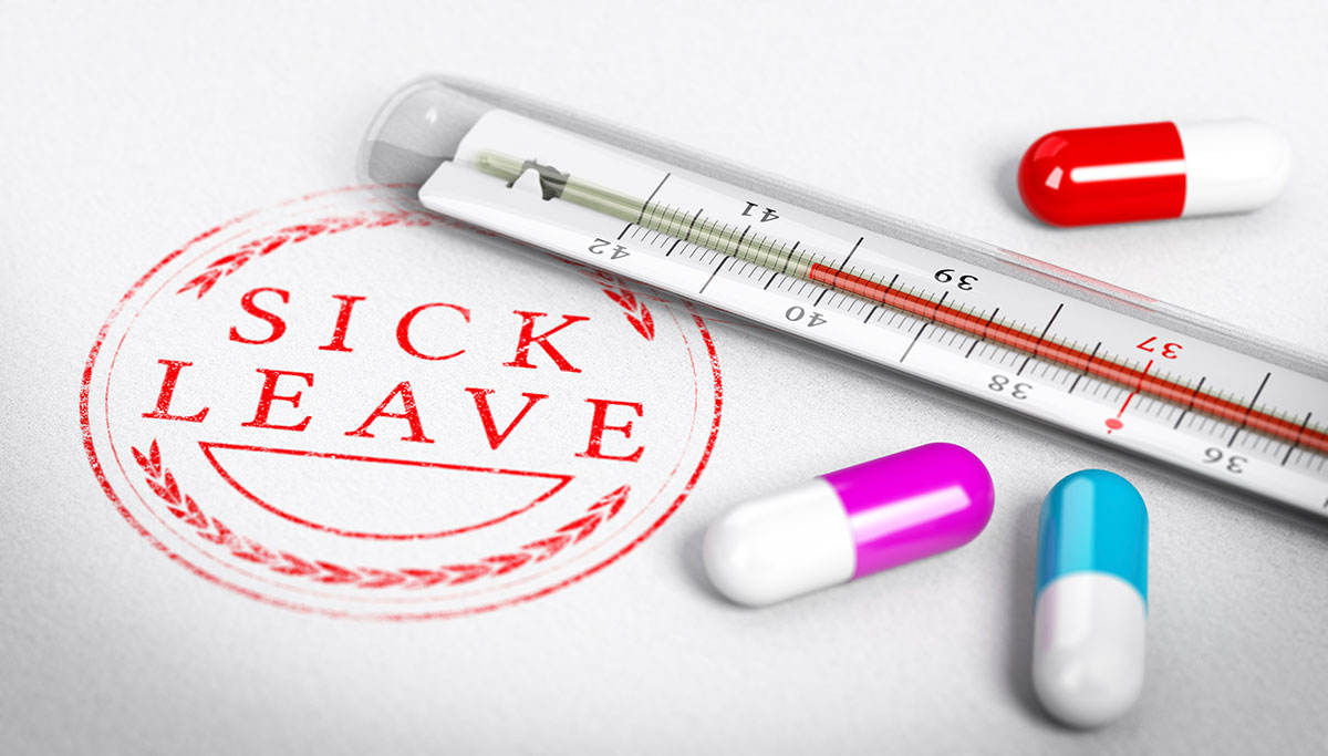 Sick Leave Over Holiday Periods